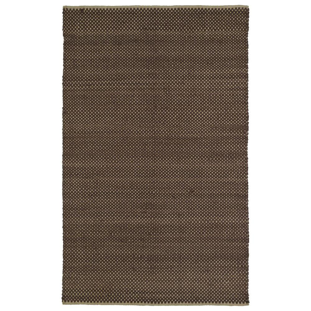 Colinas Chocolate 3 ft. x 5 ft. Reversible Area Rug