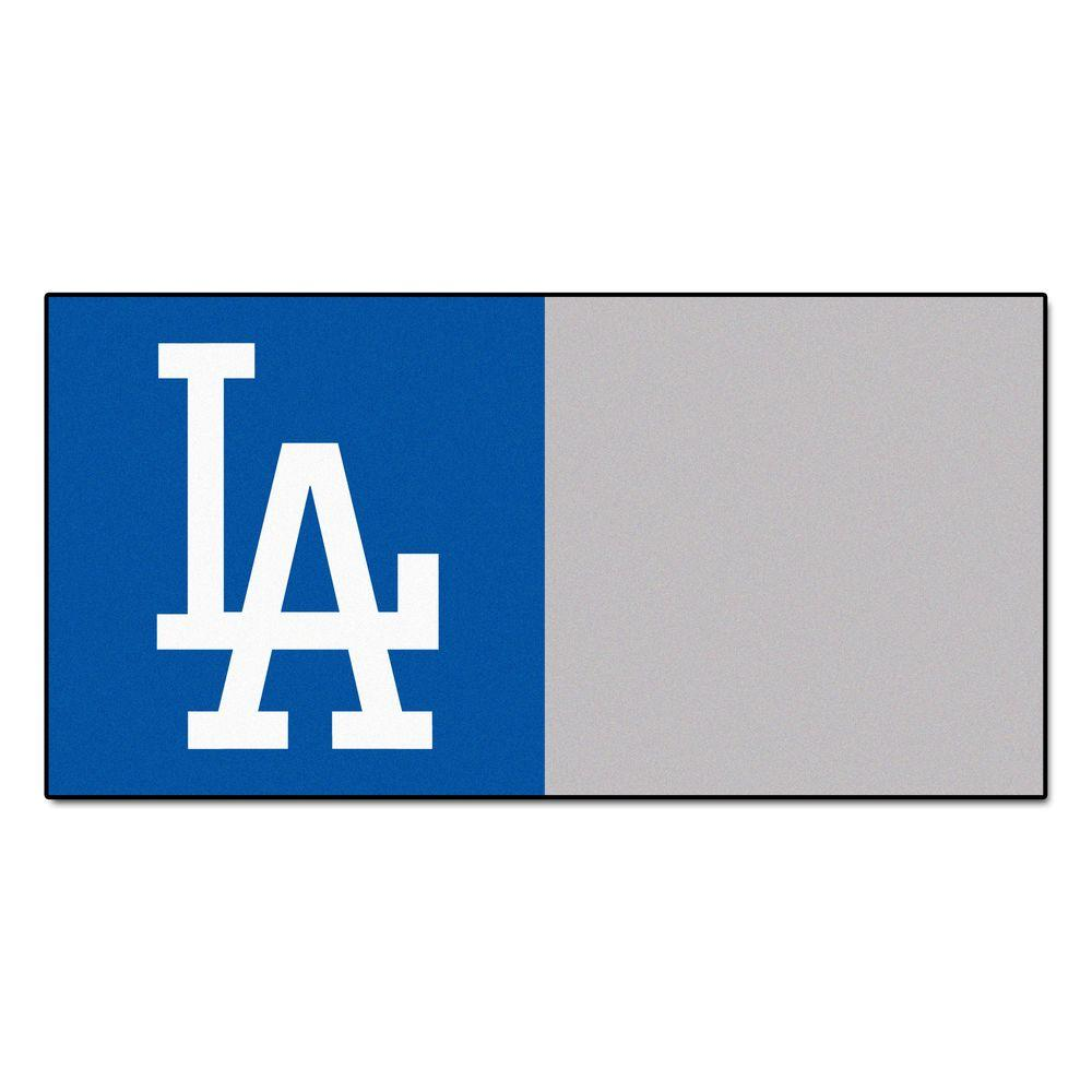 MLB - Los Angeles Dodgers Blue and Gray Nylon 18 in.