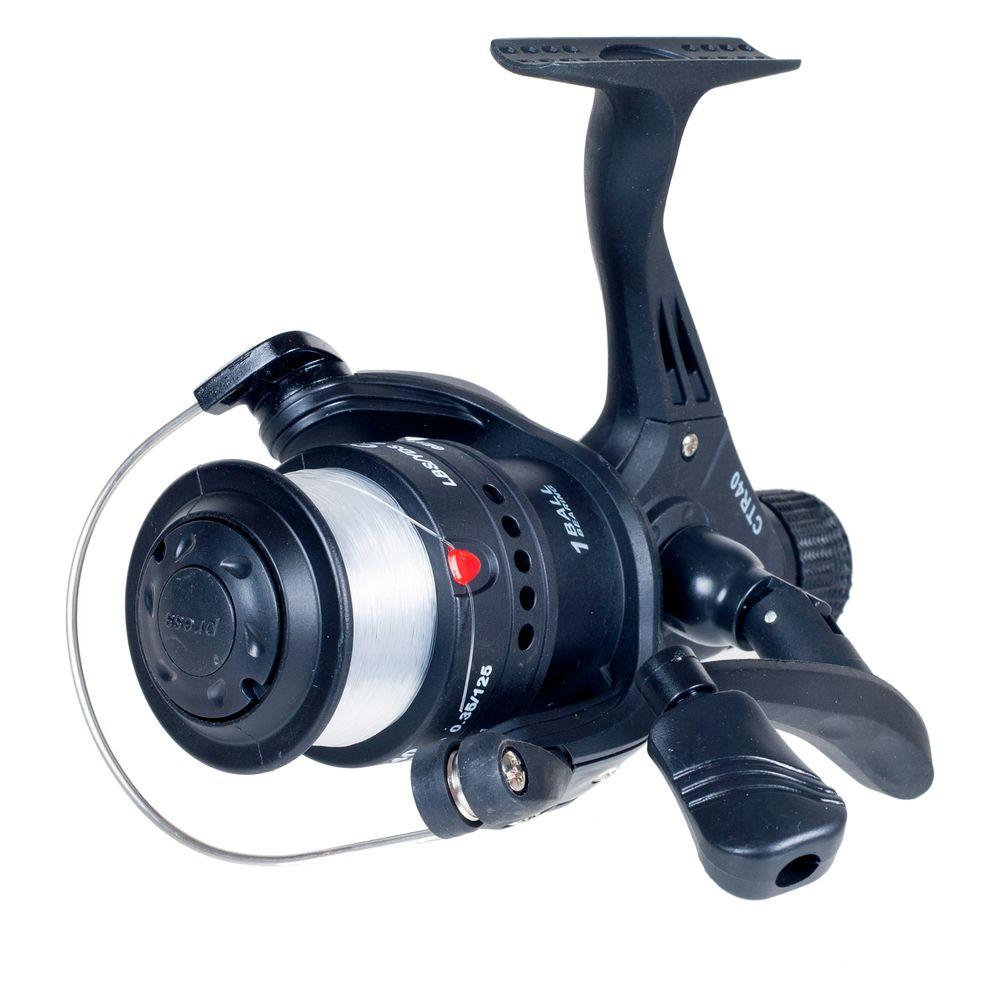 Gone Fishing Open Face Black Spinning Reel