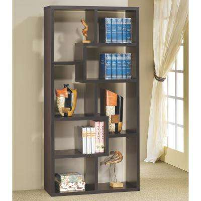 Livingston Cappuccino Bookcase