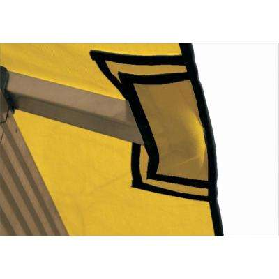 12 ft. x 12 ft. STC Seville and Santa Cruz Yellow Gazebo Replacement Canopy