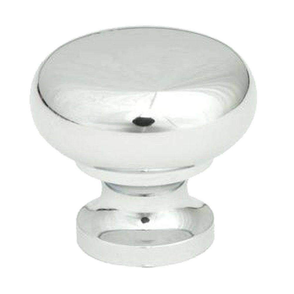 Giagni 1-1/4 in. Round Knob in Polished Chrome (50-Pack)