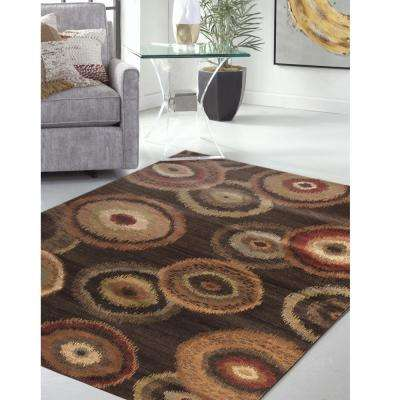 Sonoma Kinzie Chocolate 5 ft. 3 in. x 7 ft. 6 in. Area Rug