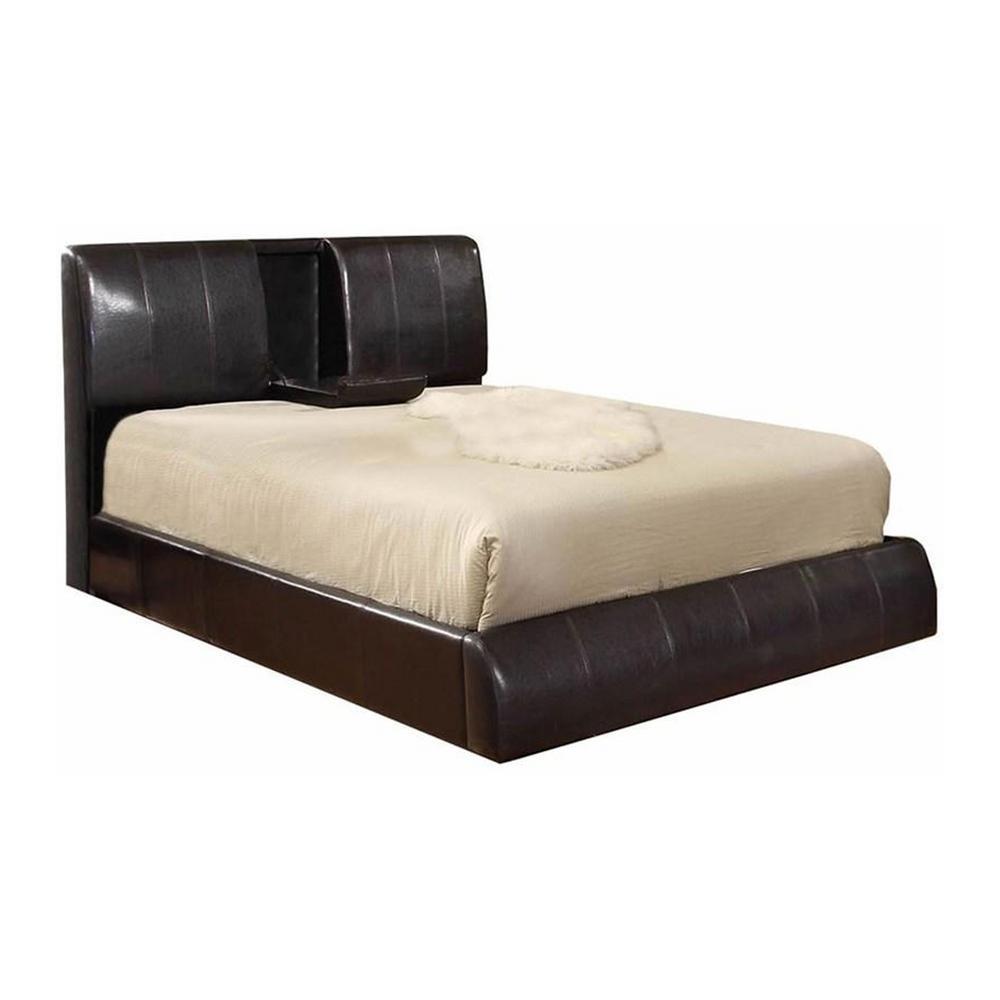 Webster Espresso California King Size Bed