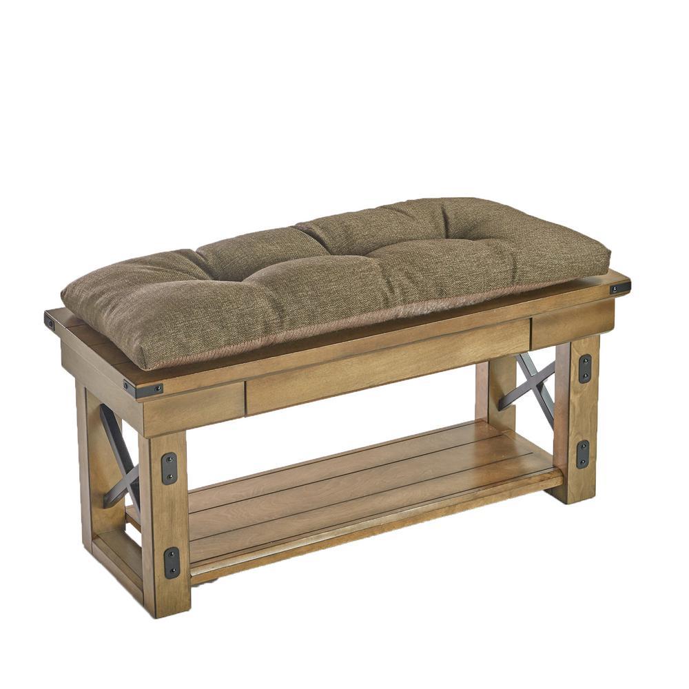 Omega Chestnut Universal Bench Cushion