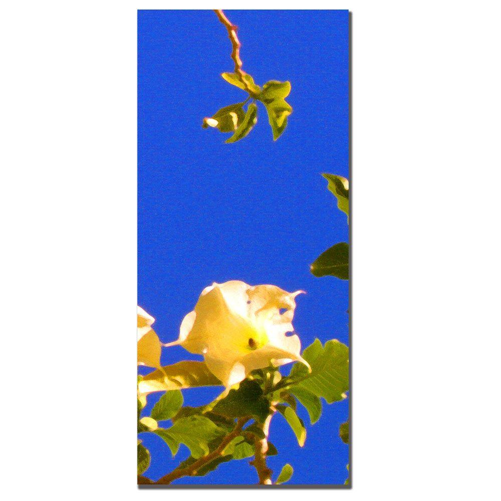 12 in. x 32 in. Flowering Tree I Canvas Art -