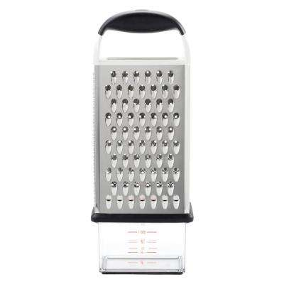 Good Grips Stainless Steel Box Grater with Container