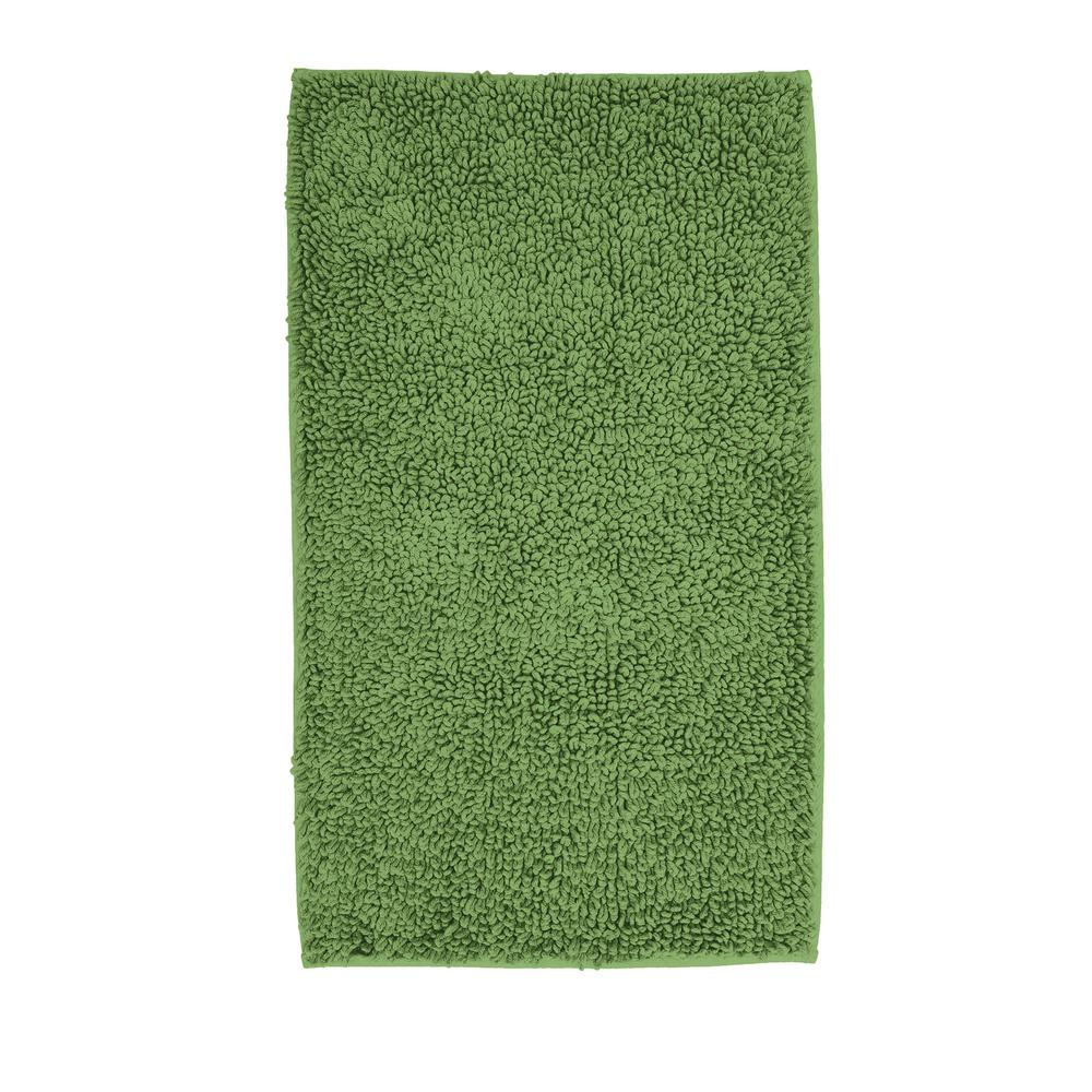 Chunky Loop Green Apple 24 in. x 17 in. Cotton Rubber