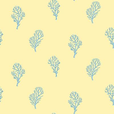 Islamorada Yellow Coral Branch Wallpaper