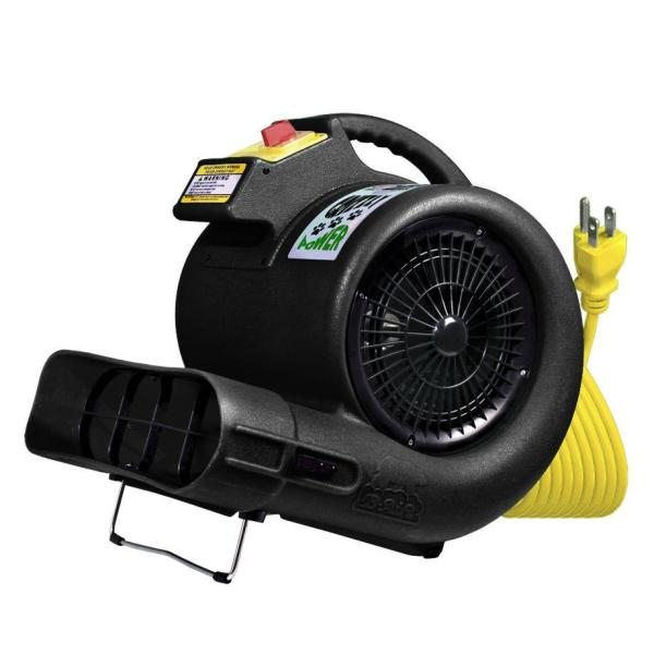 B-Air High-Velocity 3-Speed 3550 CFM Air Mover-Carpet Dryer-Floor Dryer