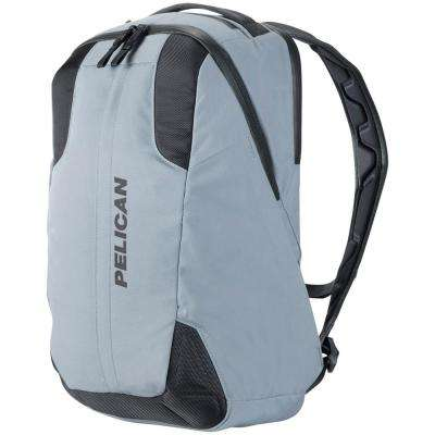 21.26 in. Gray Lightweight Backpack with Water-Resistance