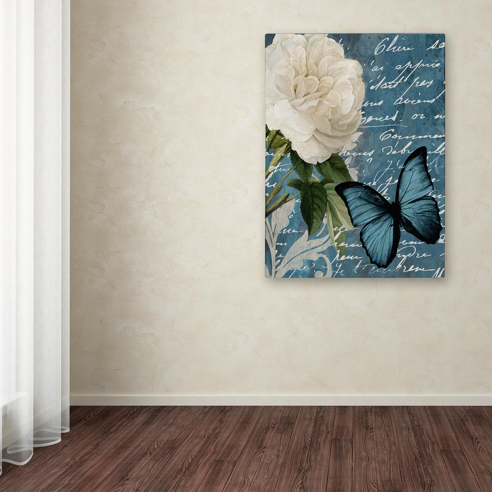 "24 in. x 18 in. ""Anastasia"" by Color Bakery Printed Canvas"