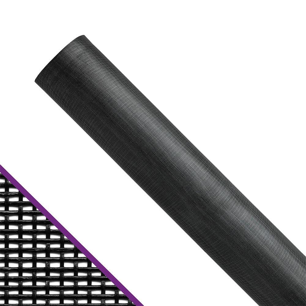 48 in. x 100 ft. Charcoal Pet Resistant Window and Door Screen Roll