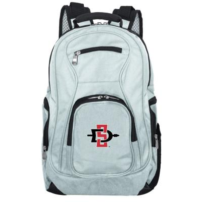 NCAA San Diego State Aztecs 19 in. Gray Laptop Backpack