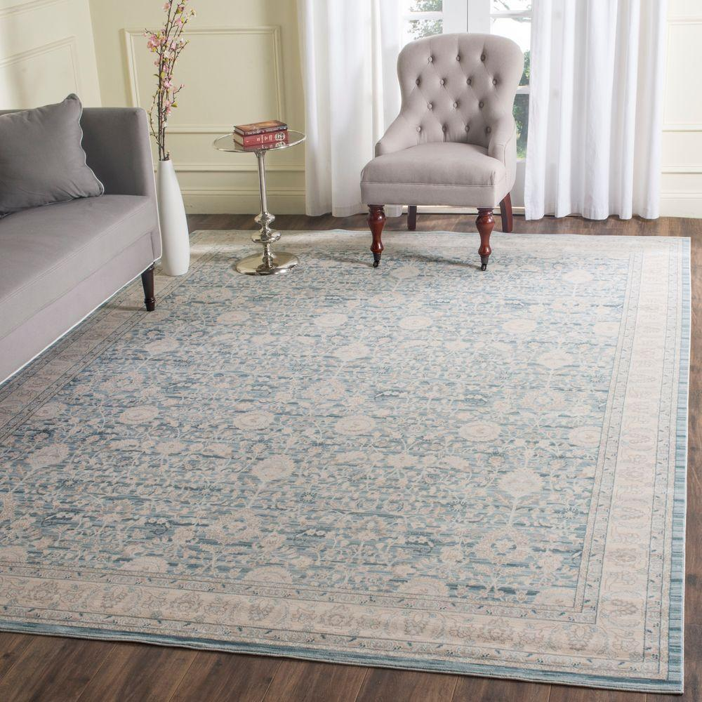 Safavieh Archive Blue/Grey 8 ft. x 10 ft. Area Rug