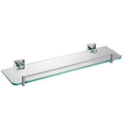 Ventus 20 in. Bathroom Shelf in Chrome