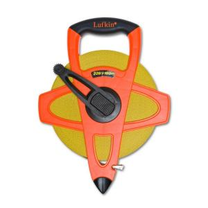Lufkin 328 ft. Fiberglass Tape Measure with 2-Sided Metric by Lufkin