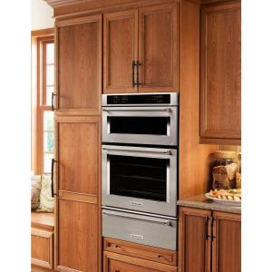 5 Kitchenaid 27 In Electric Even Heat True Convection Wall Oven With Built