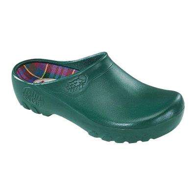 Women's Hunter Green Garden Clogs - Size 8