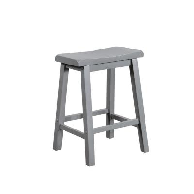 Werner 24 in. Grey Counter Stool