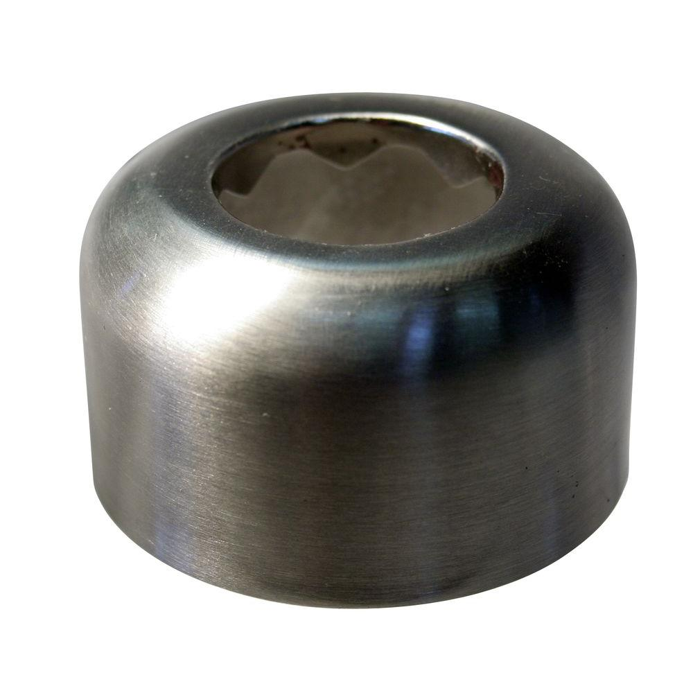 Westbrass High Box Flange for 1-1/2 in. Tubing in Polished Brass-DISCONTINUED
