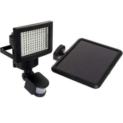 120° Black Motion Activated Outdoor Integrated LED Flood Light