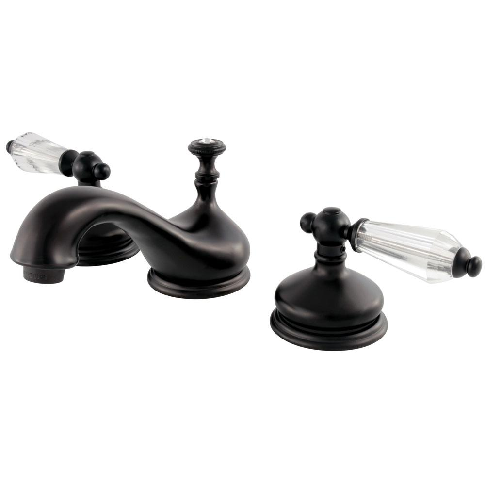 Kingston Brass Victorian 8 in. Widespread 2-Handle Bathroom Faucet ...