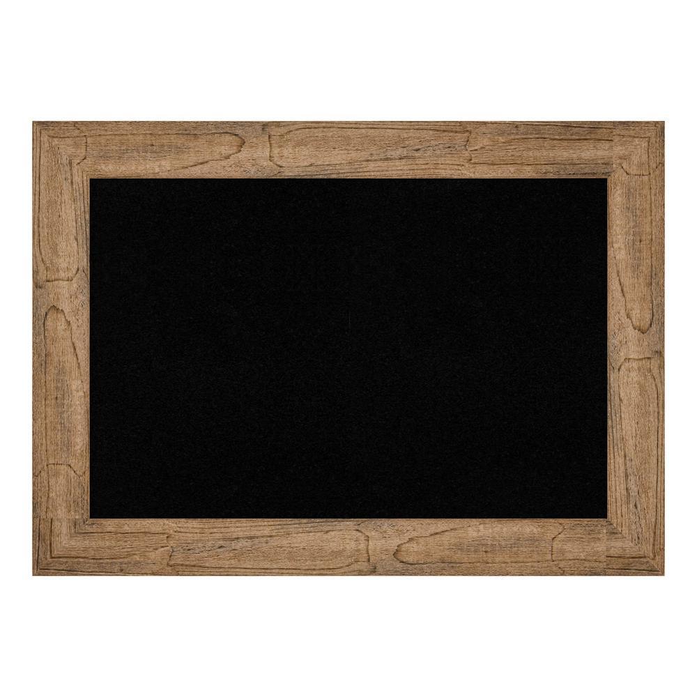 Owl Brown Narrow Framed Black Cork Memo Board