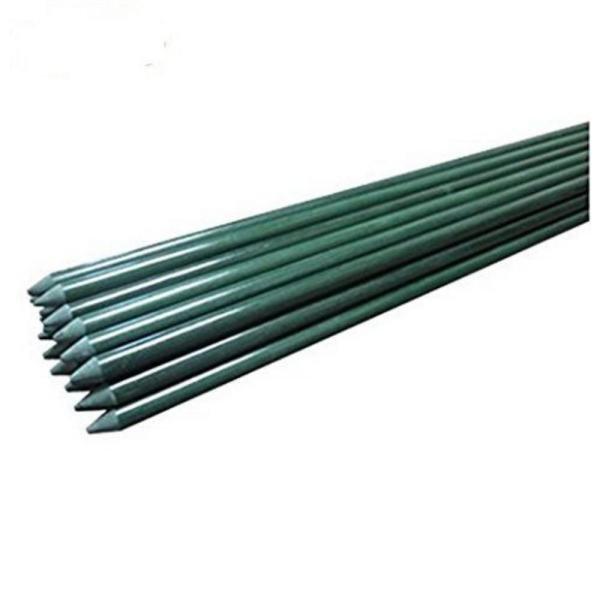 4 ft. Garden Stakes for Climbing Plants Supports Pole Rust-Free Plant Sticks Fence Post (8-Pack)