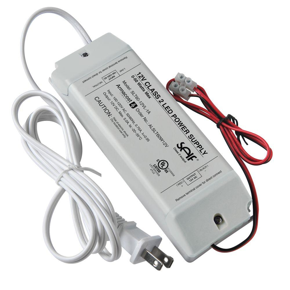 60 watt 12 volt dc led lighting power supply