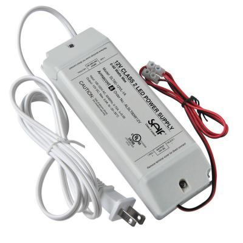 60-Watt 12-Volt DC LED Lighting Power Supply
