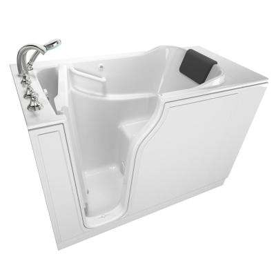 Gelcoat Premium Series 4.2 ft. Walk-In Soaking Tub in White