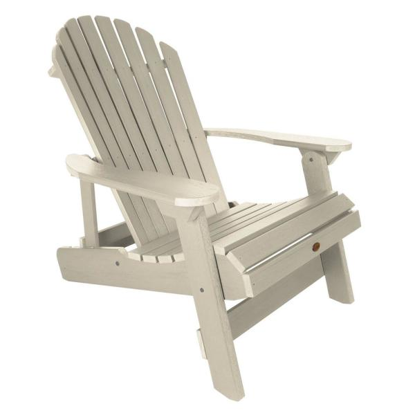 Highwood King Hamilton Whitewash Folding and Reclining