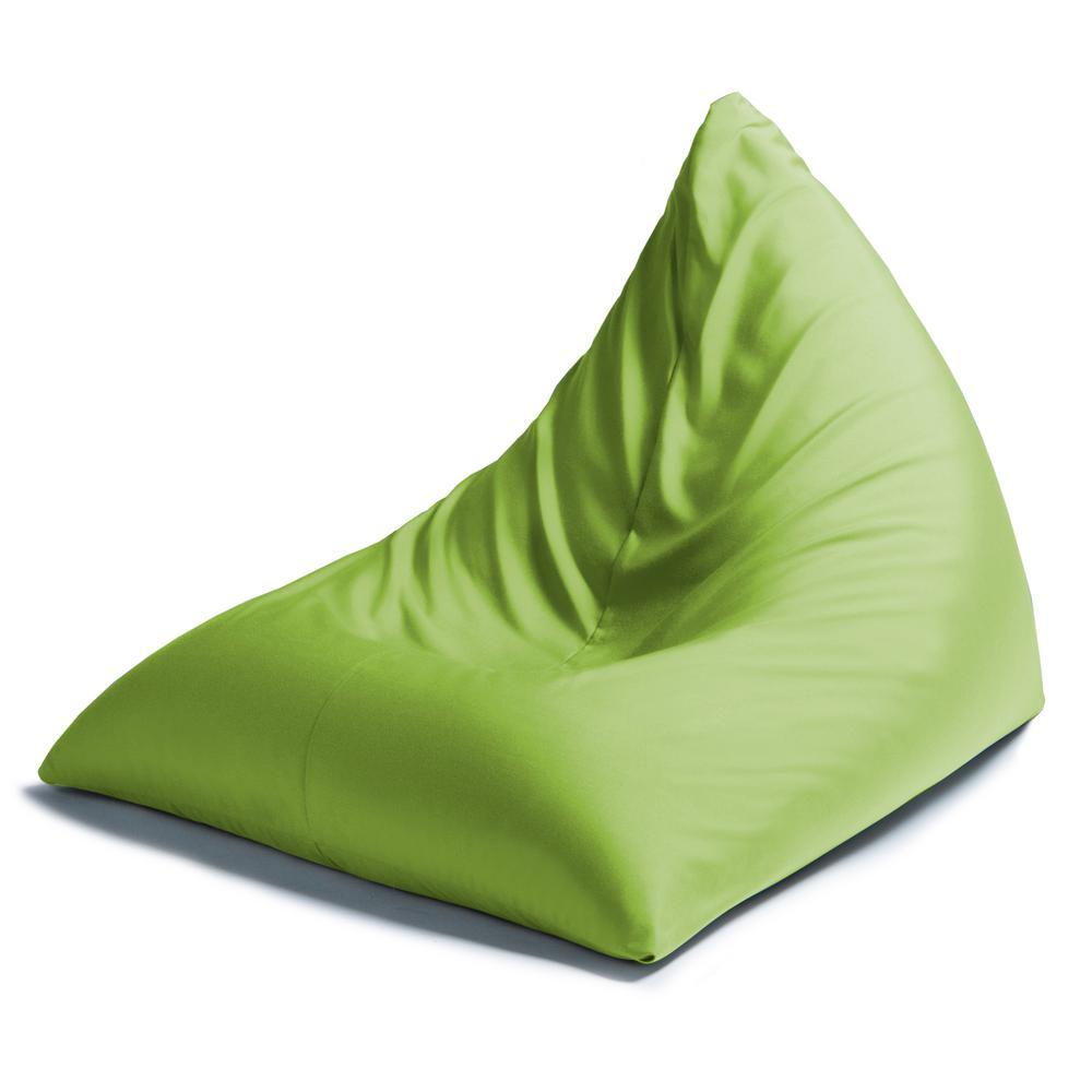 Twist Lime Outdoor Bean Bag Chair