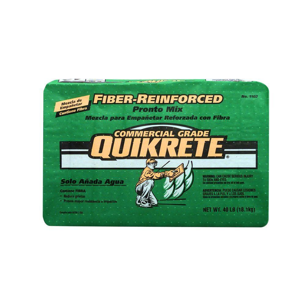 Quikrete 40 Lb Fiber Reinforced To Mortar Mix