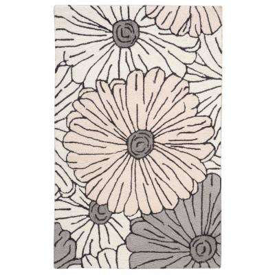 Fantasy Ivory/Multicolor 3 ft. x 4 ft. Area Rug