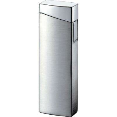 CamiNo Wind-Resistant Jet Flame Wind-resistant Lighter, Satin Chrome