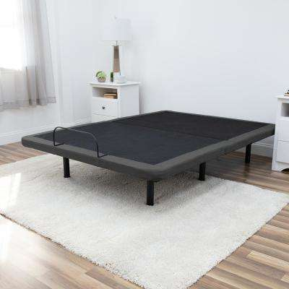 Queen Steel Adjustable Mattress Foundation Bed Frame