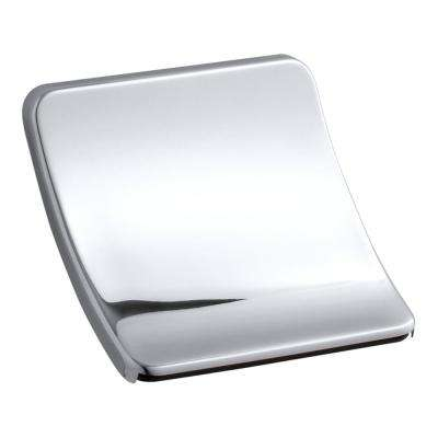Souris Wall-Mount Sheet-Flow Non-Diverter Bath Spout in Polished Chrome