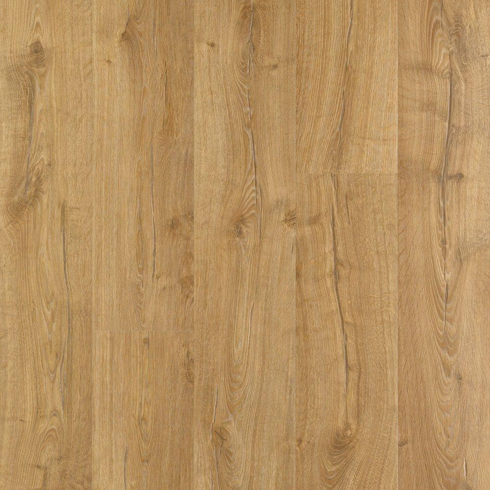 Outlast+ Marigold Oak Laminate Flooring - 5 in. x 7 in. Take Home Sample