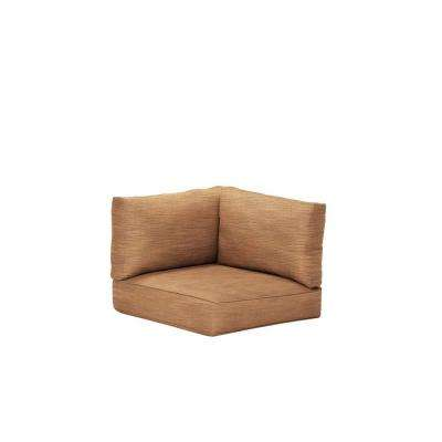 Northshore Patio Corner Sectional Replacement Cushions in Toffee