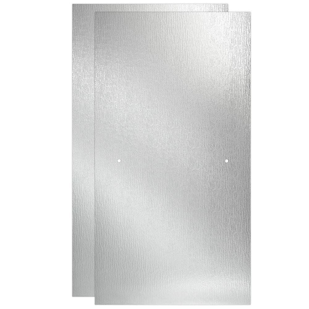 Delta 60 In Sliding Bathtub Door Glass Panels In Rain 1