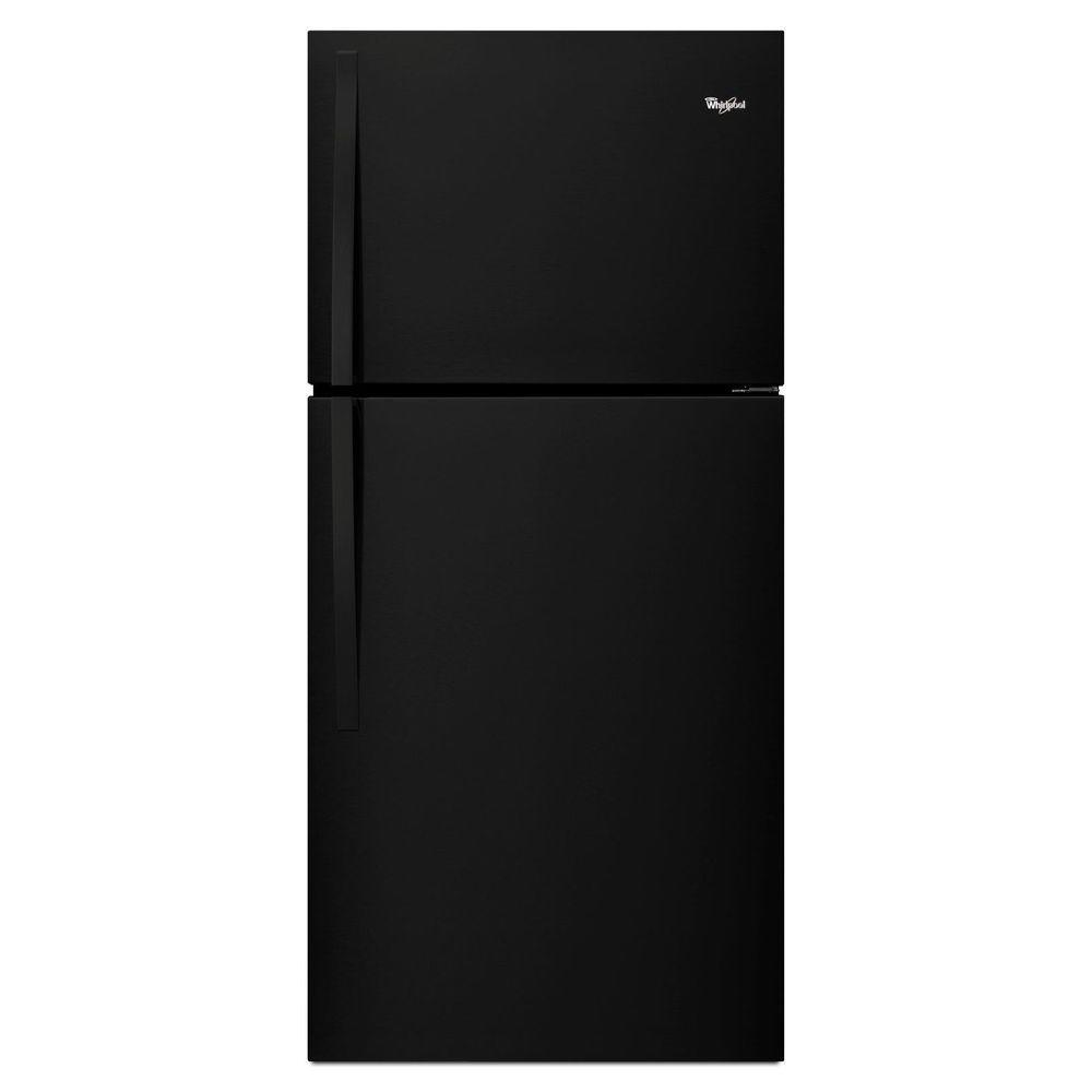 19.2 cu. ft. Top Freezer Refrigerator in Black