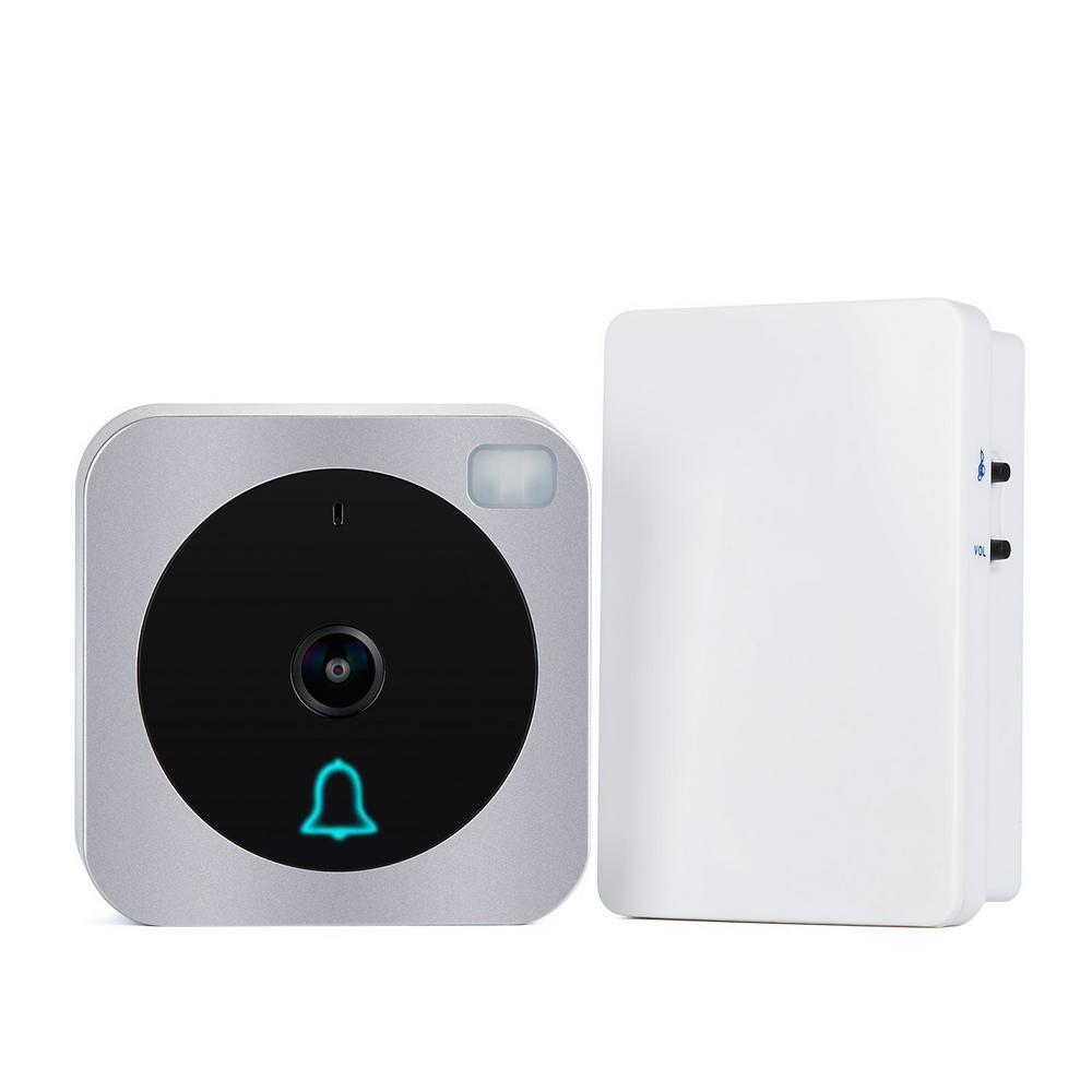 vuebell wi fi wireless door bell with hd video outdoor. Black Bedroom Furniture Sets. Home Design Ideas