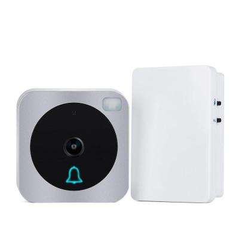 Wi-Fi Wireless Door Bell with HD Video Outdoor Camera Intercom