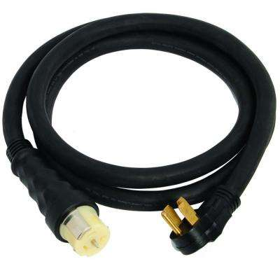 10 ft. 50-Amp Male to Female Generator Cord