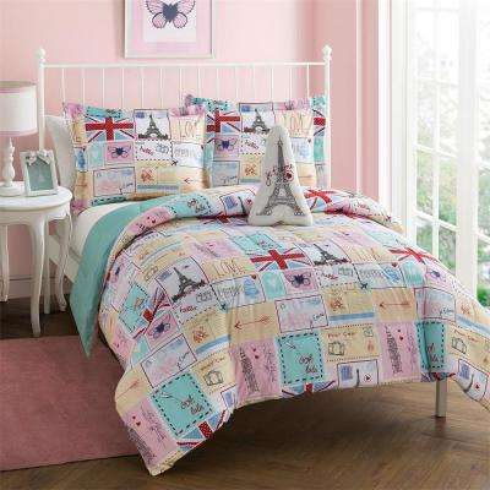 Bonjour 3-Piece Twin Comforter Set