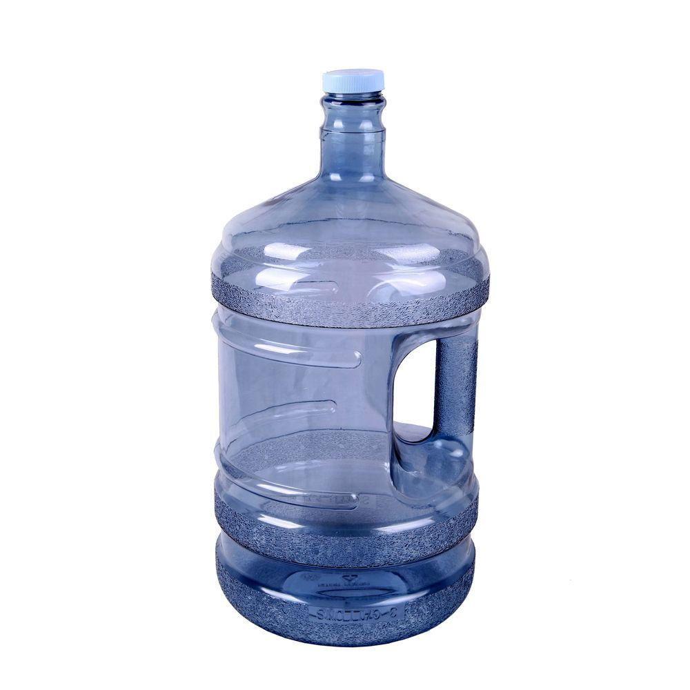 Ore international 5 gal water bottle in clear ws50gh 48 the home depot - Home depot water container ...