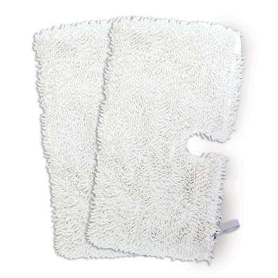 12 in. Micro-Fiber Floor Cleaning Pad for Steam Pocket Mops