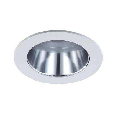 4 in. Chrome Recessed Reflector Trim